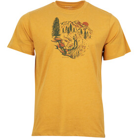 United By Blue Passing Through SS Graphic Tee Men Gold